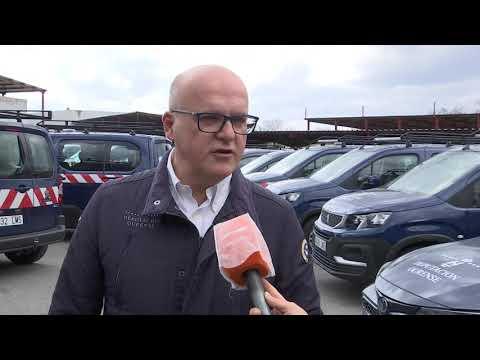 A Deputación renueva a súa flota con 52 novos vehículos non contaminantes 01/03/2021