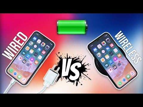 Download Youtube: iPhone X Battery Test - Wireless vs Wired