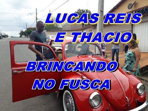 LUCAS REIS E THACIO BRINCADO NO FUSCA VERMELHO em sarzedo mg