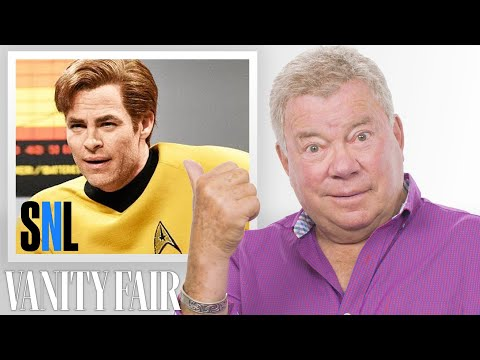 William Shatner Reviews Impressions of Himself   Vanity Fair