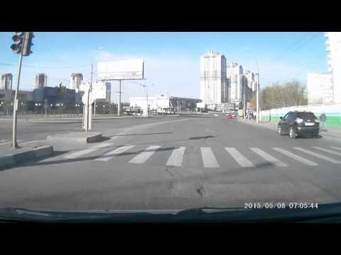 выезд из Дзержинского района г. Новосибирск