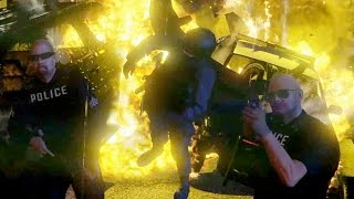 GTA 5 Die Hard - Slow Motion Explosions Kills 09