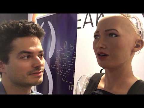 Gabriel Axel & Sophia chat about SingularityNET, dream analysis, parental issues, and romance