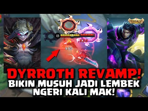 DYRROTH VS ALUCARD | DYRROTH REVAMP SKILL LAGI PAK | MOBILE LEGENDS