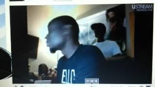 "9TH WONDER on ustream listening to ""BOBBY X STEEV"""