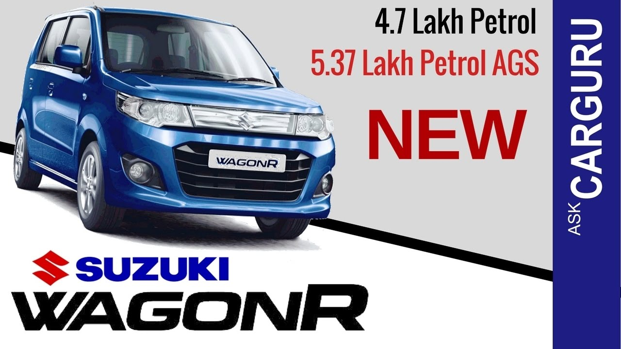 2017 maruti wagonr carguru wagonrms vxi ags engine price exterior all details youtube