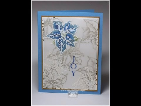 Stained Glass Vellum Technique