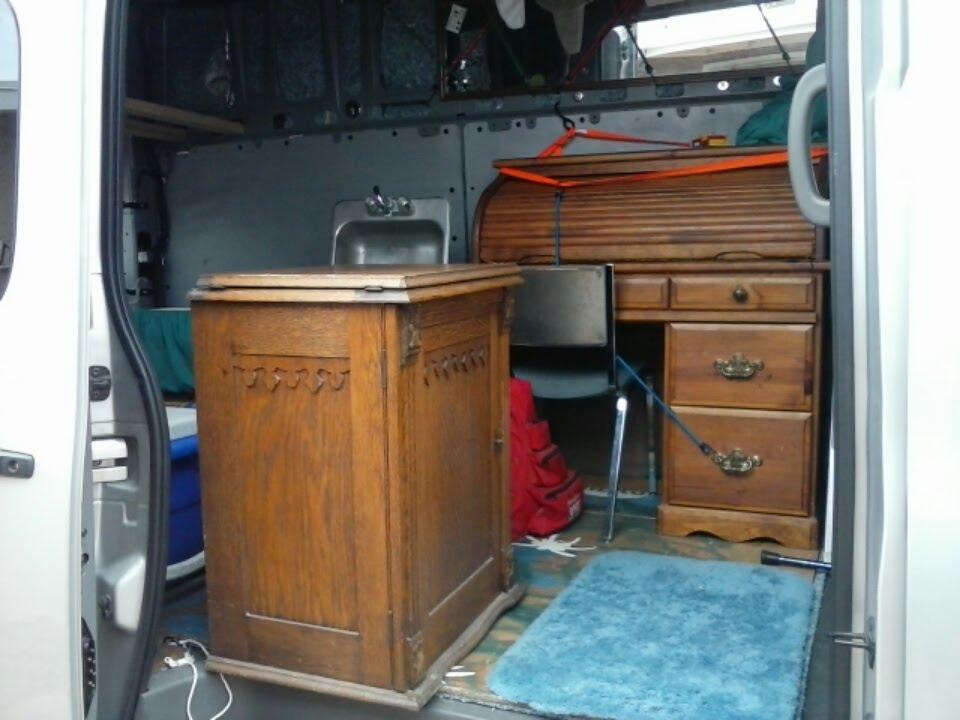 Van Build 8 Bo 39 T Flooring Sink Cabinet Etc Youtube