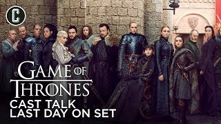 """Game of Thrones Cast Talk Last Day On Set Filming """"The Long Night"""""""