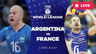 Argentina v France - Group 1: 2017 FIVB Volleyball World League