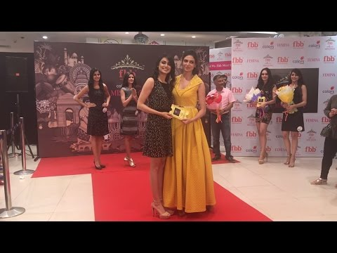 Unveiling Of fbb Colors Femina Miss India 2017 Haryana Finalists