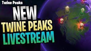 Fortnite - New Twine Peaks Save The World Livestream
