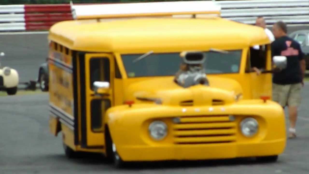HOT ROD SCHOOL BUS * \
