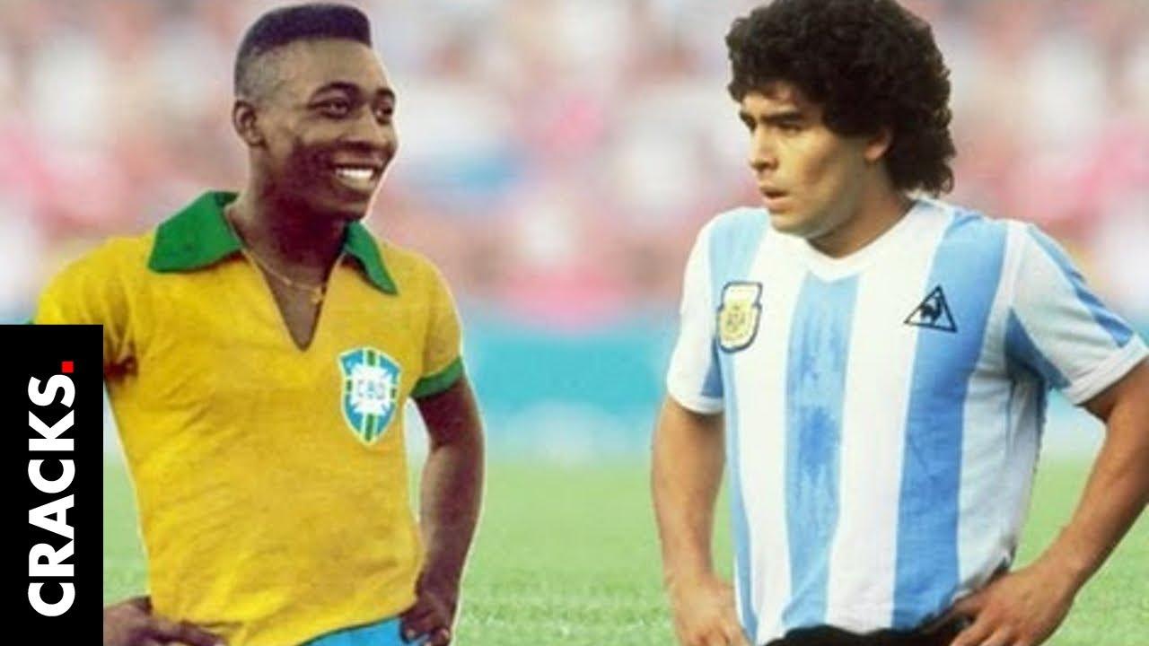 Las peleas públicas entre Maradona y Pelé