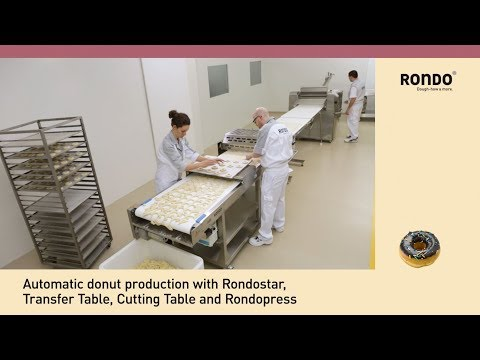 RONDO - Donut Production - 150 To 250 Dozen/hour