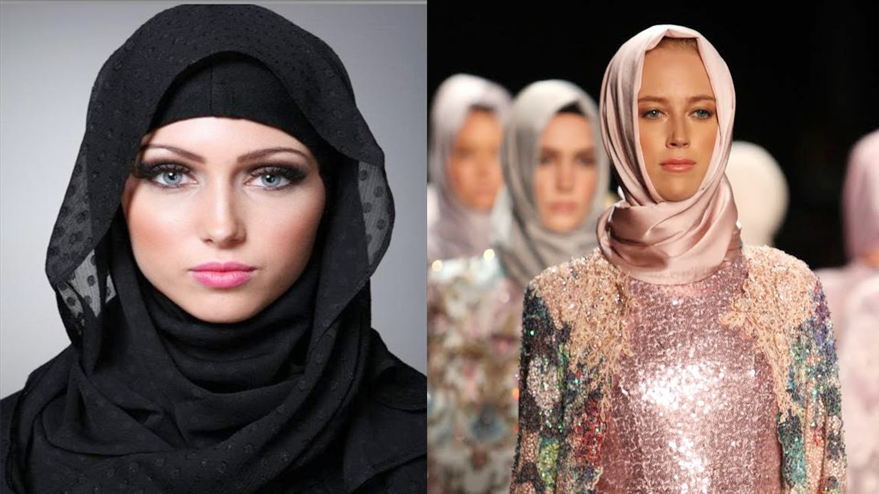 first muslim hijab fashion show in london strong message