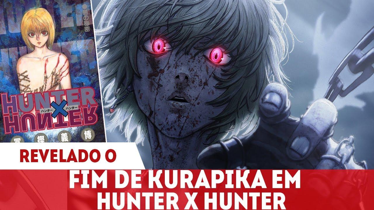 REVELADO O DESTINO FINAL DE KURAPIKA EM HUNTER X HUNTER E COMO ELE VAI ACONTECER