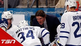Babcock addresses Matthews' TOI, relationship with Dubas