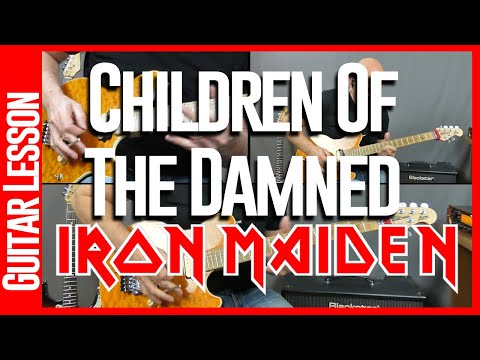 Children Of The Damned By Iron Maiden Guitar Lesson Tutorial