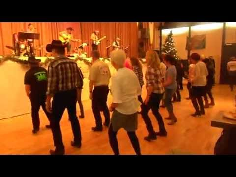 Weihnachtsfeier bei Country-Freunde RM mit The Five Bullets am 6.12.2014