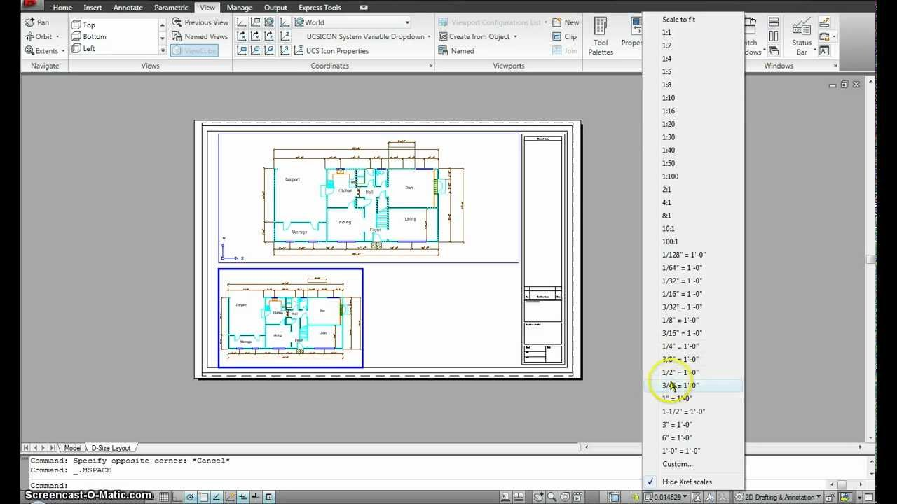 Papercraft Autocad Managing Paper and model space- Part 2.mp4