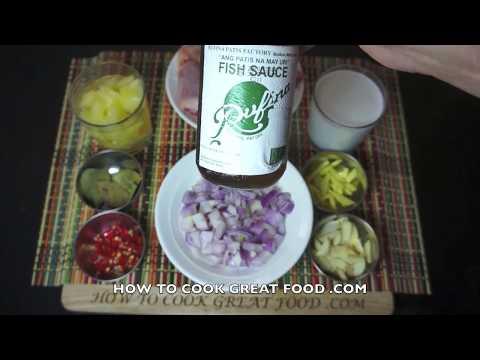 Chicken & Pineapple Recipe - Chicken Pineapple Coconut - Asian Chicken - easy chicken recipes