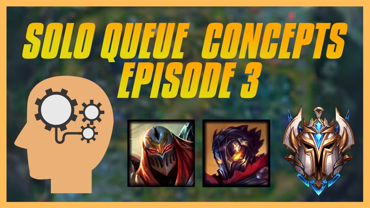 Solo Queue Concepts Ep.3 : Mid Game Farming & Side Laning - When To Group Or Split Push