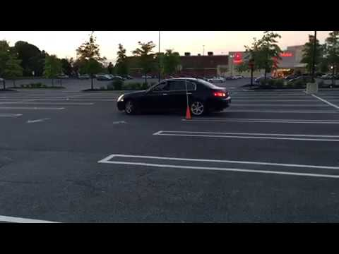 Two Point Reverse Parking Practise For MVA Road Test
