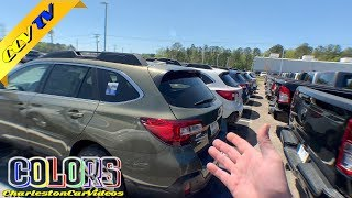 NEW 2019 Subaru Outback Exterior Colors Review | Lighter Shades of Colors is Elegant!