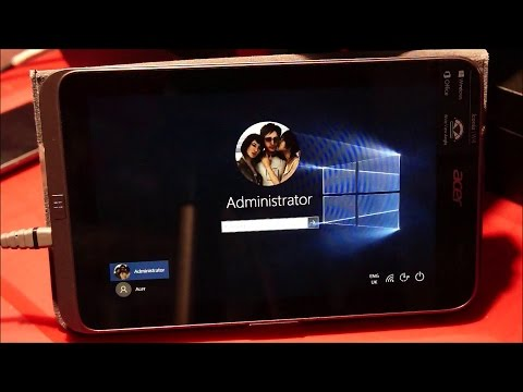 Acer Iconia W4 - Updating/Installing Windows 10 from ISO