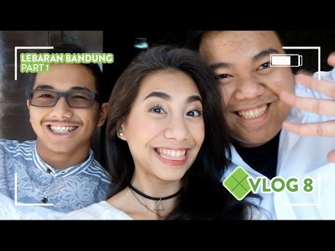 [VLOG] #08 Lebaran & liburan Nyoy di Bandung - Abel Cantika