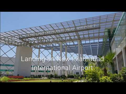 Landing at New Islamabad International Airport