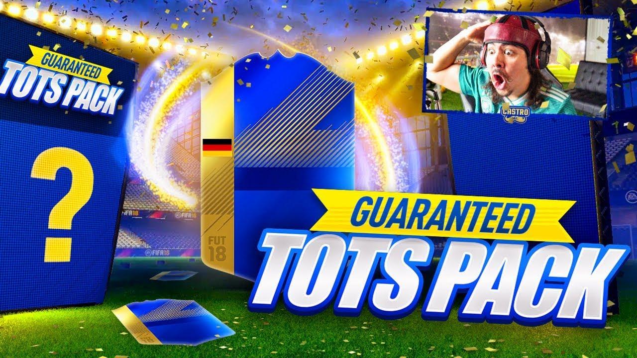 10 GUARANTEED TOTS SBC PACKS!! DO WE GET REUS?! FIFA 18