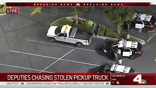 Police Chase Ends in Long Beach