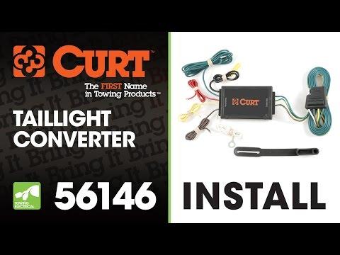 Trailer Wiring Install: CURT 56146 Taillight Converter