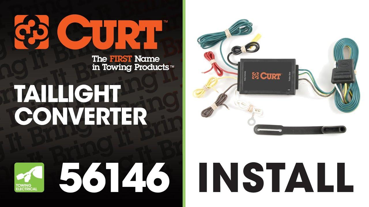 trailer wiring install curt 56146 taillight converter [ 1280 x 720 Pixel ]