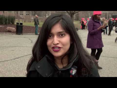 CBC NIR - Women's March on Washington: Stronger Together