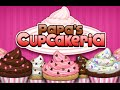 Papa's Cupcakeria Full Walkthrough