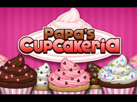 Papa's Cupcakeria – All Standard Toppings Unlocked