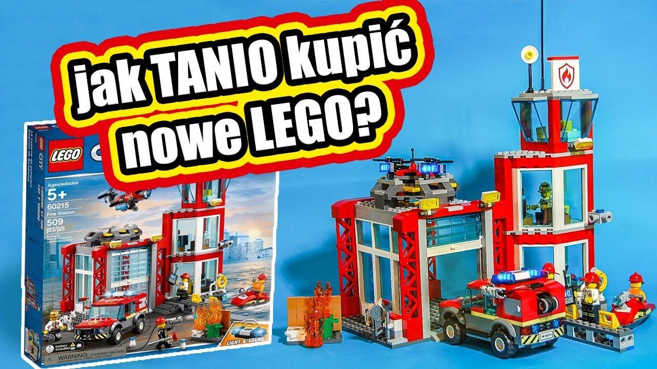 Lego 60215 Remiza Strażacka Recenzja Jak Kupować Tanio Nowe