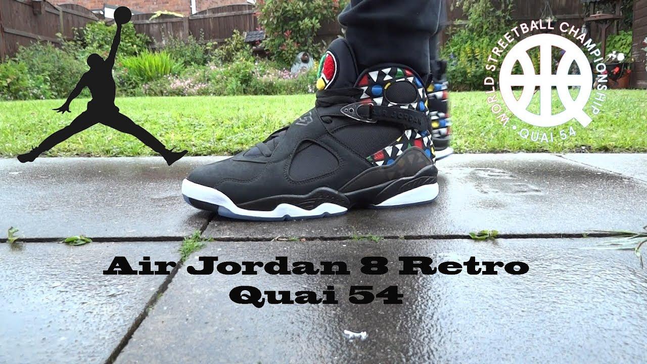 Air Jordan 8 Retro Quai 54 - YouTube
