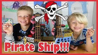 Fisher Price Imaginext Pirate Ship Toy Set Review By Junior Gizmo