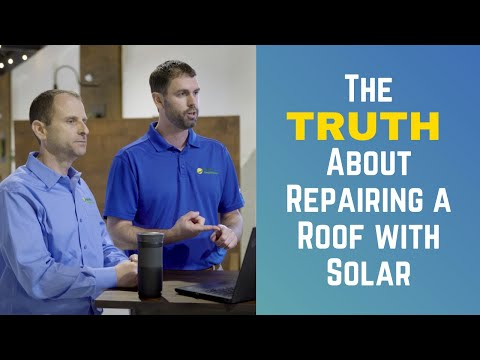 The Truth About Replacing or Repairing a Roof After Installing Solar Panels