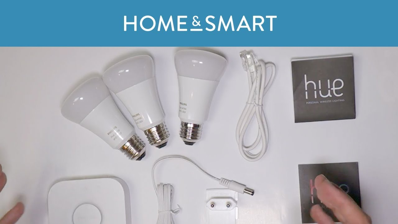 Philips Hue Starter Kit E27 Philips Hue White And Color Ambiance E27 Starter Set Unboxing