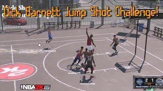 nba 2k15 dick barnett jump shot challenge