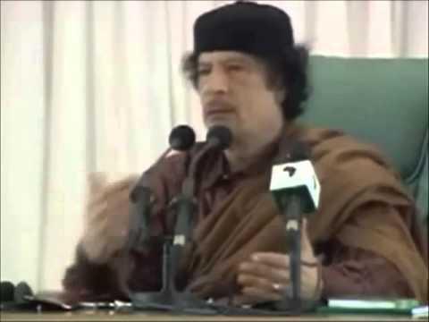 Rede von Al Gaddafi, zur Masseneinwanderung nach Europa  Ursachen und Loesungen