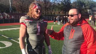 WPI Football Post-Game Interview - Blayne Merchant