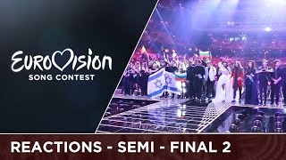 Emotions from the qualifiers after Semi-Final 2