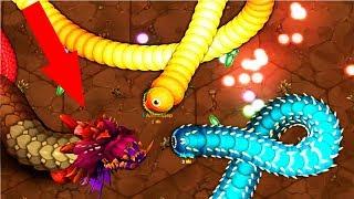 Little Big Snake (.io) СЕКРЕТНАЯ ТАКТИКА ИГРЫ, ПЕРВОЕ МЕСТО В ИГРЕ МАЛЕНЬКАЯ БОЛЬШАЯ ЗМЕЙКА