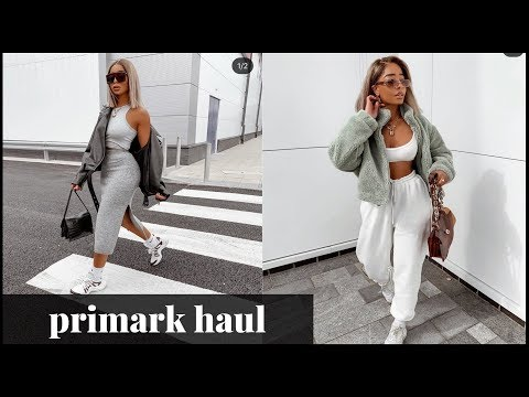 AUTUMN/WINTER PRIMARK CLOTHING HAUL & TRY ON | SARAHJOHOLDER
